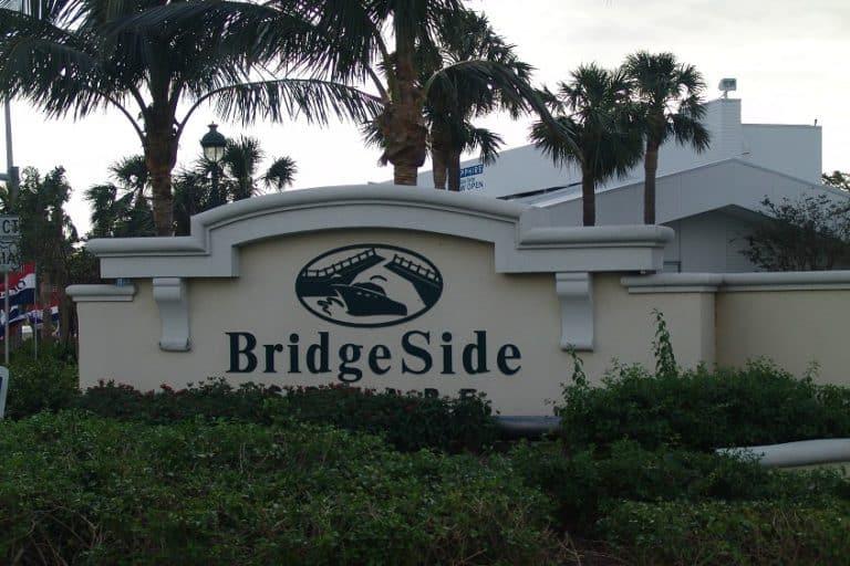 Bridgeside Sign