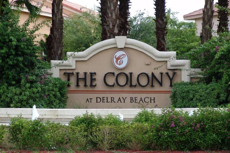 Colony Sign