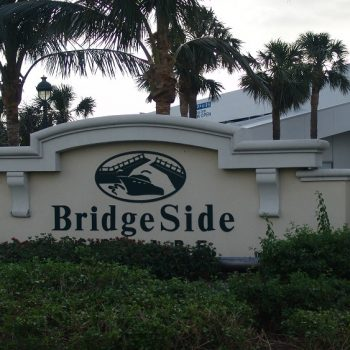 Bridgeside Sign
