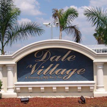 Dale village Sign