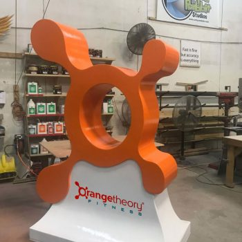 Orange theory Sign prop