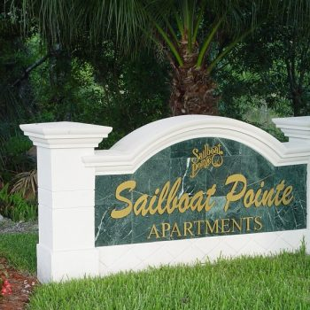 Sailboat Pointe Sign