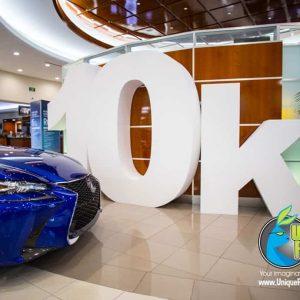 Lexus Sales Event Props