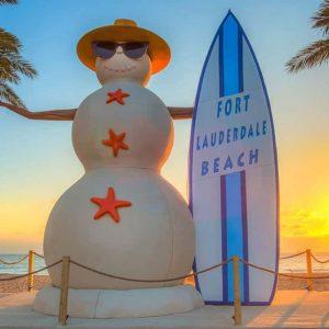 Fort Lauderdale Sandman Display Sculpture