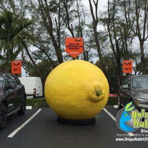 Giant Lemon Sales Prop